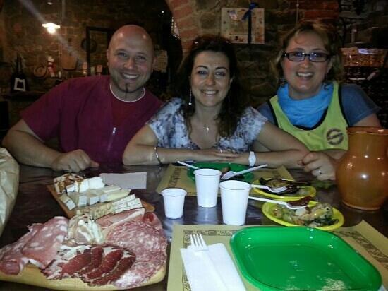 La Cantina Di Simone: fantastiche persone. . .