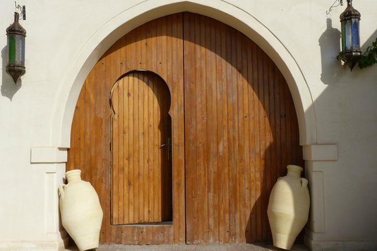 Dar Hamza Djerba: L'entrée