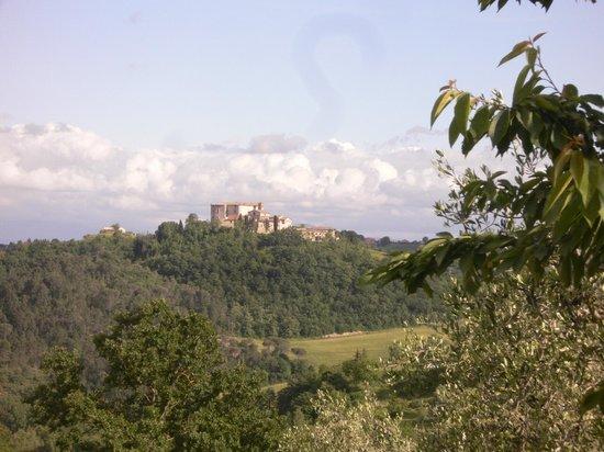 Montemenardo : Blick von der Terasse