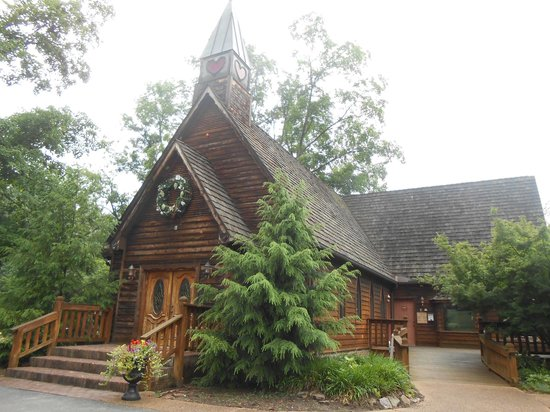 Townsend View Rentals: Wooden church in Townsend