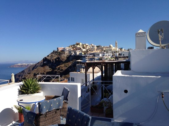 Theoxenia Boutique Hotel : View from Rooftop