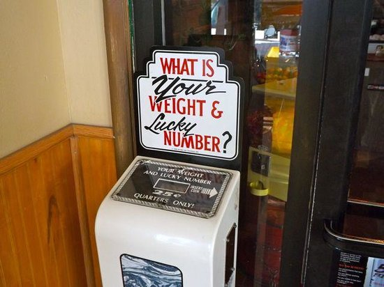 Almond Tree Restaurant and Lounge: What is your weight and lucky number?