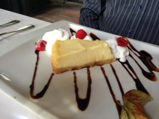 Bar Restaurante La Estación: cheese Cake