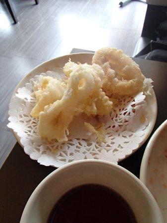 Aji Sai Plus Resto Lounge : Tempura Squid