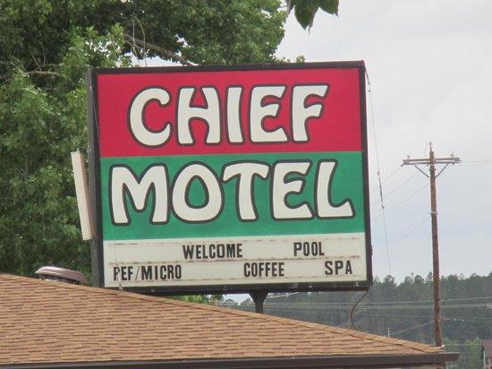 شيف موتل: The Chief Motel - Custer City, SD