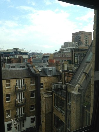 YHA London Oxford Street: View from our room