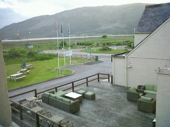 The Glencoe Inn: View of Loch Leven from Glencoe Inn (Hotel)