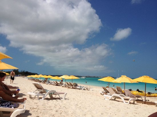 Alexandra Resort: Beach.