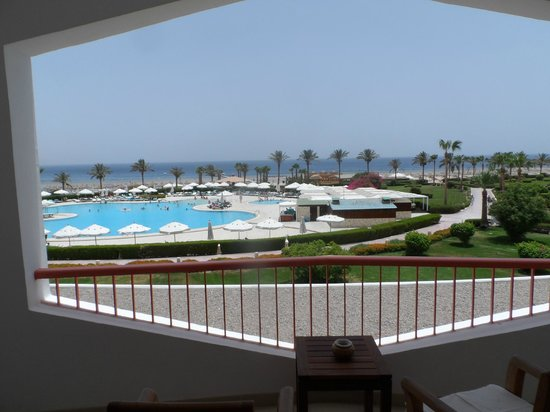 Baron Resort Sharm El Sheikh: view from our balcony