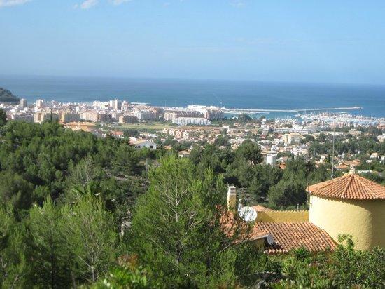 Montgo Natural Park: View of Denia