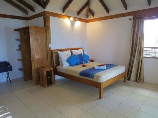 Hideaway Island Resort & Marine Sanctuary: Main bedroom