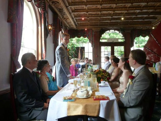 China Palace: The beautiful decor (and the groom's speech)