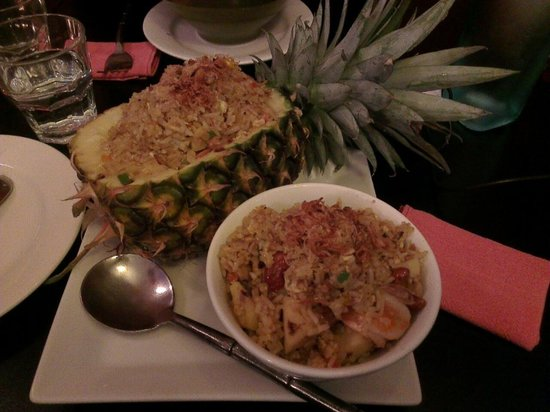 Oriental Spirit: Pineapple fried rice :)