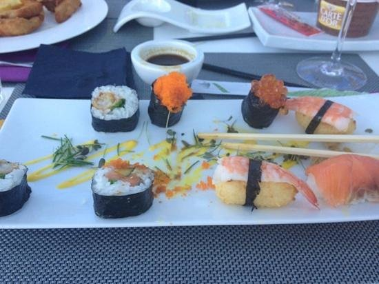Fusion19: great sushi!