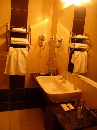 JM Hotel Warsaw Center: toilette