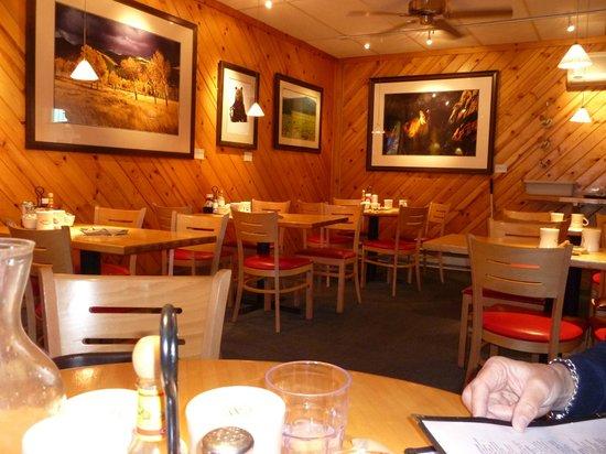 Inside The Bunnery Bakery & Restaurant