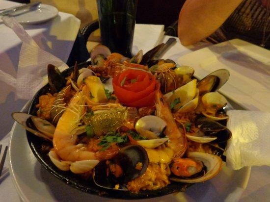 Aguaviva Restaurant: Paella
