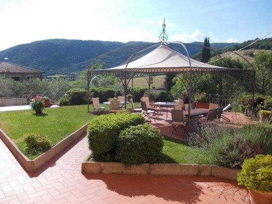 Albergo Villa Cristina : il giardino