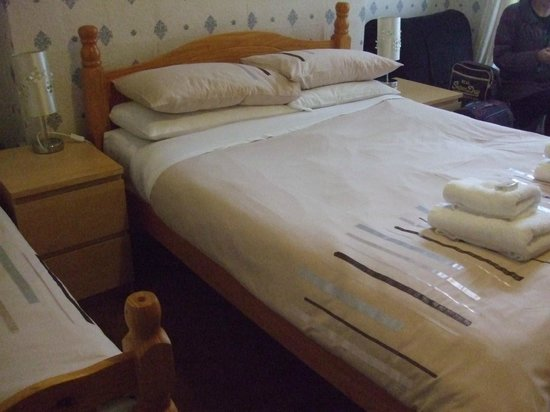 Verdene Hotel B&B: Double bed