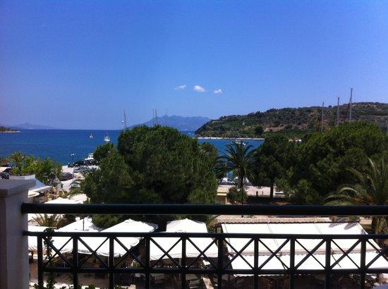 Hotel Christina: la vue depuis la chambre 203