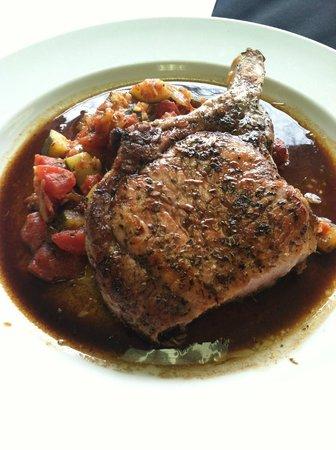 Grill 1-2-5: Herb Grilled Pork Chop