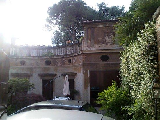 B&B Palazzo Salgari: Cortile interno
