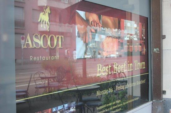 Hotel Ascot: ascot restaurant