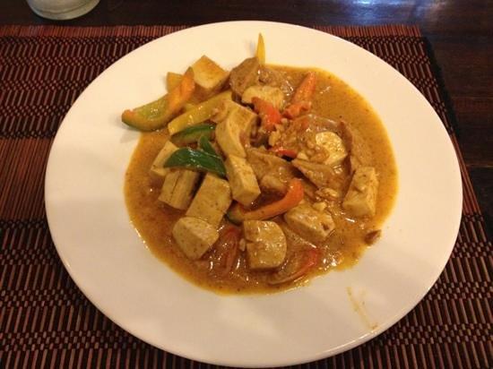 Taste from Heaven - Vegetarian and Vegan Cooking School: Panang Curry