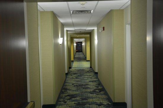 SpringHill Suites Austin North/Parmer Lane: 4th floor walking area