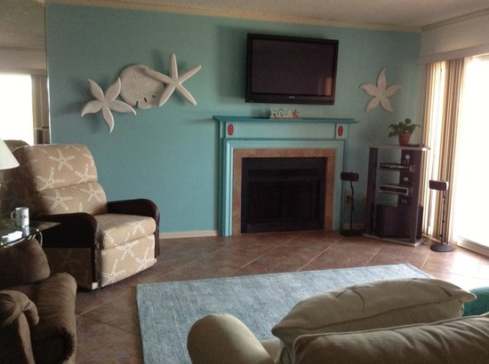 Beach Cottage: Large living area