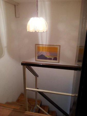 The Balkan Backpacker: Inside stairs