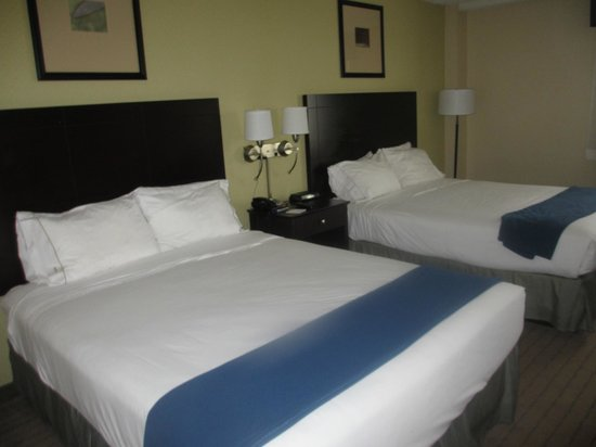 Holiday Inn Express Boston : chambre double