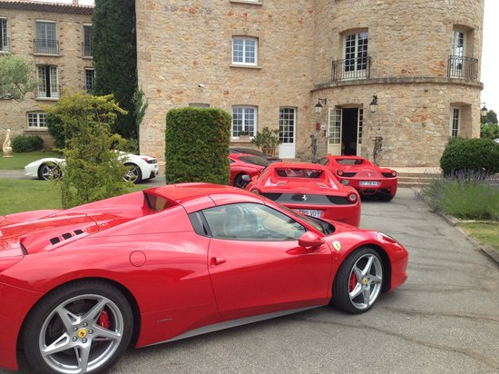 La Bastide de Tourtour : Ferrari rally at LBT