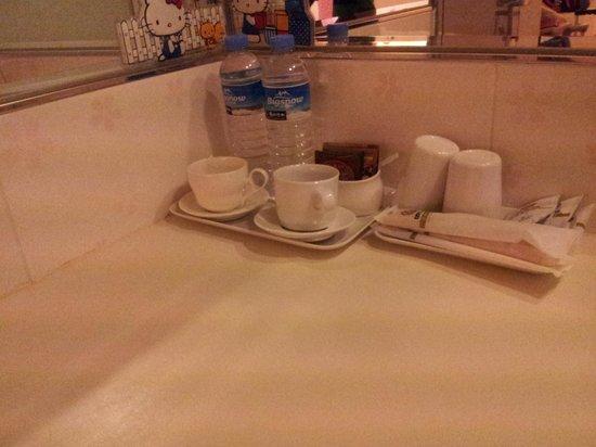Longstay Hotel: Washing area
