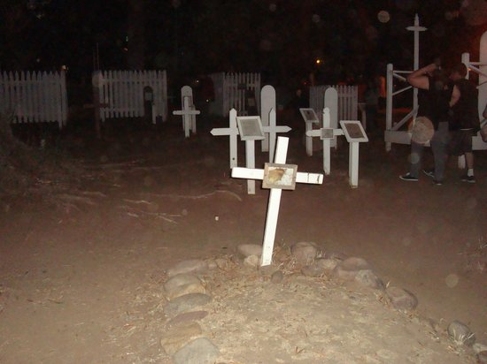 Old Town's Most Haunted: The Cemetery in Old Town