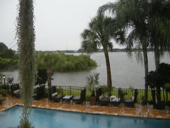 Inn On The Lakes: View from our room (was rainy that day)