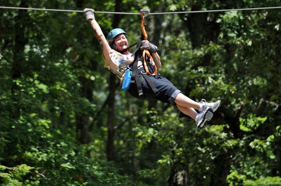 White Oak Lodge & Resort: Having the time of our lives