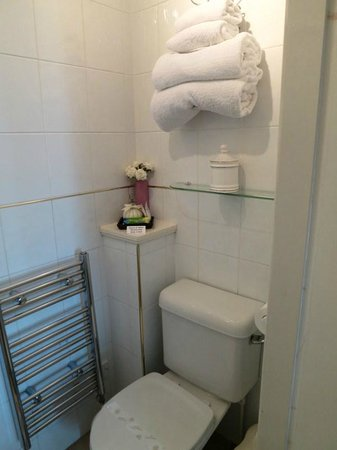 Pitreavie Guest House Room 4 ensuite bathroom