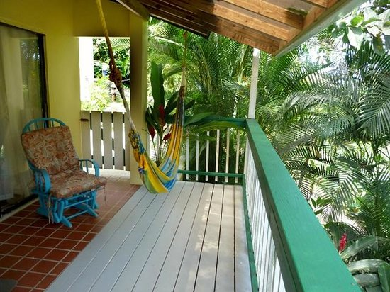 Sue's Place: The balcony of the 'Loft' rental
