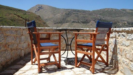 Hotel Psamathous : Studio terrace