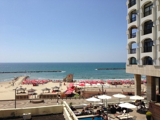 Orchid Tel Aviv: View from the balcony