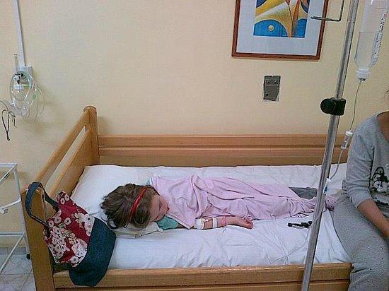 Hotel Kaliakra: My daughter in Albena Hospital