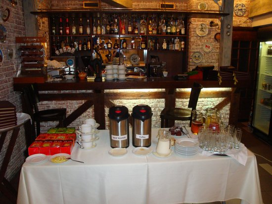 Arbat Nord Hotel: Kaffee, Tee und Säfte