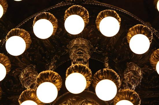 Photo Tours of New York: Library Lights