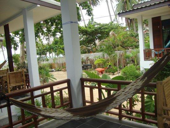 Benjamin's Hut : Vue du balcon