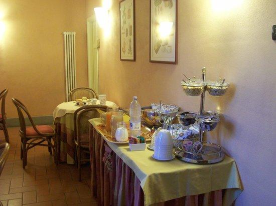 Alla Dimora Lucense: prima colazione