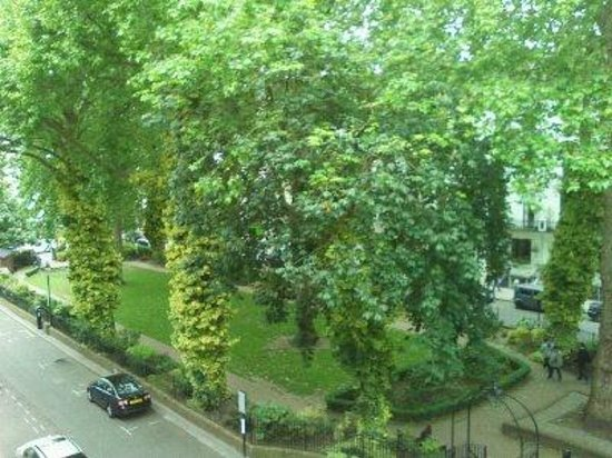 Chrysos Hotel: view from the room