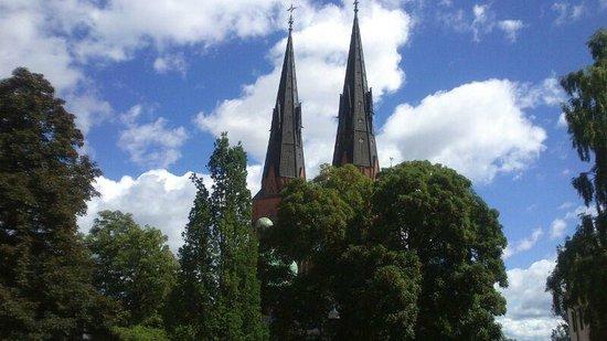 Akademihotellet: ad un passo dall'hotel, la Cattedrale di Uppsala