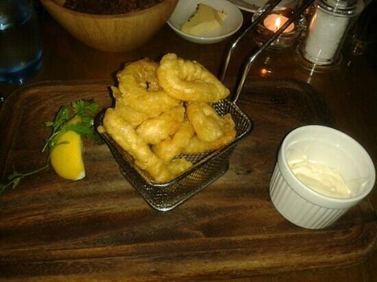 The Seafood Bar @ Kirwan's: fried calamari