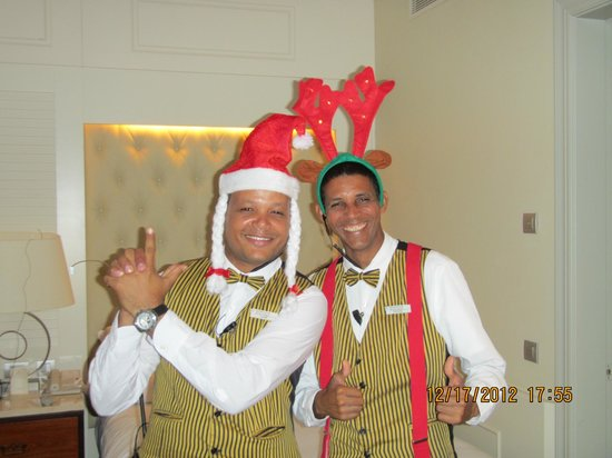 "Iberostar Grand Hotel Bavaro: ""Luis"" & Pastor, butlers always ready to serve..."